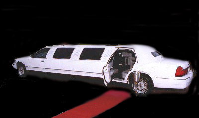 white limousine with red carpet special