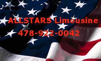 USflag,ALLSTAR Limousine Service,1-866-698STAR,1-866-698-7827