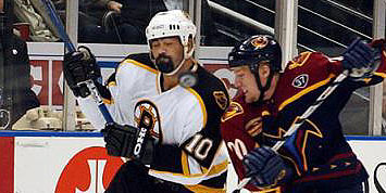 Thrashers vs Boston