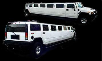 white H2 Hummer